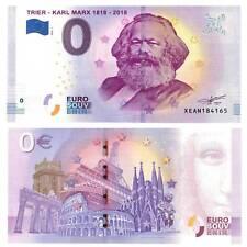 0-Euro Schein 2018 Trier Karl Marx Unc. / 2830745vvv