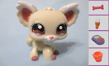 Littlest Pet Shop #1199 Long Hair Chihuahua Dog+ 1 FREE Access.  100% Authentic