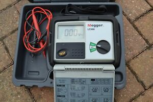 Megger LT300 High Current Loop Impendance Tester 2 Wire 550V CAT IV