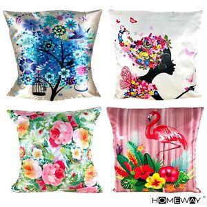 "Colourful Cushion Covers Home Sofa Decor Large Cushion Cover 50 X 50cm (20""x20"")"