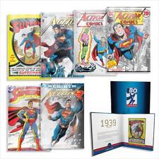 Niue 6 x 1 Dollar 2018 - Superman™ 6 Münznoten - Gesamt Kollektion - Silber ST