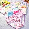 Fashion Kids Girls Soft Children Floral Bottoms Panties Briefs Shorts Underwear