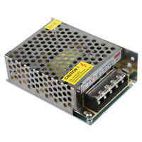 60W Driver Alimentatore Trasformatore LED DC 12V 5A per Striscia Luce M4Z8 W7G6