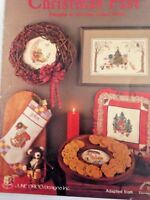 Christmas Past June Grigg Cross Stitch Pattern Holiday Decor