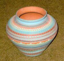 Beautiful Navajo Vase Made & Signed by Myron Charlie, Navajo, 6 ½ x 5 ½ Inches