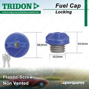 Tridon Locking Fuel Cap for Ford FPV Falcon BA F6 GT GT-P F6 BA BF FG SY