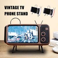Support téléphone portable conception télévision rétro portable support burea LB