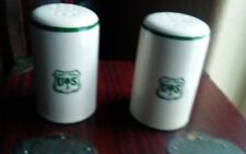 FOREST SERVICE SALT & PEPPER SHAKERS. QUALITY, COORS  U.S.A. CHINA.