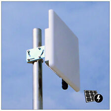 Pluto_R5820AN 300Mbps 5.8G Wireless Outdoor AP Bridge CPE PoE 20dBi mimo Antenna