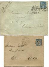 Type Sage. 2 entiers 1900 et 1902.