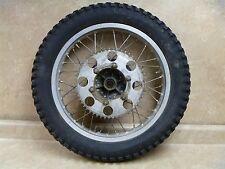Yamaha 250 DT ENDURO DT250-D Original Used Rear Wheel Rim 1977 #YB21 VTG YW65