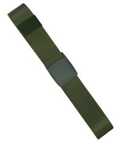 Army Belt Military Tactical SWAT Security Elite Cadet Combat Pants Webbing Olive