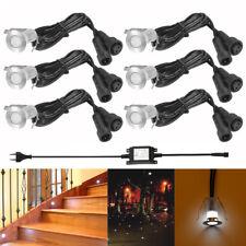 6er Set Kaltweiß LED Boden Einbaustrahler Einbauleuchte Außen Treppe Küche  Lampe