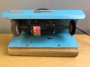 Lortone BP-1 Compact Jewelry Lapidary Polisher Buffer with Pedal Dayton AM8