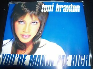 Toni Braxton ‎– You're Makin' Me High David Morales Remixes CD Single – Like New