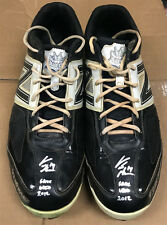 Curtis Granderson Signed Inscribed Game Used Baseball Cleats w/ Granderson LOA
