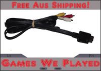 Genuine Nintendo Gamecube AV Cord Cable Lead Replacement Preloved N64 SNES