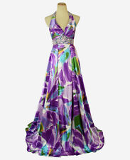 New Genuine Tony Bowls 111757 Purple Women Evening Gown Prom Pageant Formal 2