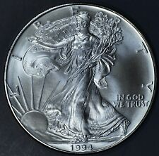 1994 1 oz AMERICAN SILVER EAGLE BRILLIANT UNCIRCULATED ASE  SKU1994B