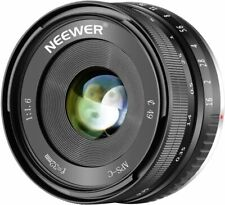 Neewer 32mm F1.6 Large Aperture Manual Prime Fixed Lens APS-C for Sony E-Mount