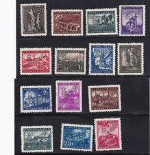 Yugoslavia Slovenia Stamp 1945 Laibach Italian Overprint MNH 14 Stamps Read desc