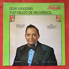 Jose Luis Monero La Orquesta Original Doce Canciones V4 Bolero Puerto Rico MINT