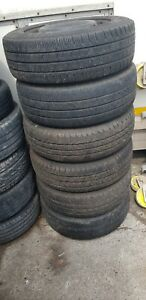MERCEDES VITO 16 inch STEEL WHEELS WITH TYRES And good Threads 2056516.£20 for 1