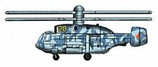 1/700 Trumpeter Ka29 Helix Helicopter Set for Russian Carriers (6/Bx)
