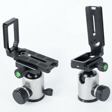 Universal Metal L-Bracket Quick Release hand grip Plate For Camera W