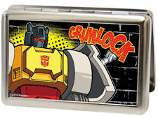 Transformers Grimlock Hasbro Metal Multi Use Wallet Business ID Card Holder New