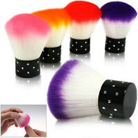 FUN NAIL CARE FIBRE BRUSHES ACRYLIC & UV GEL NAIL ART ACCESSORIES DUST CLEANER