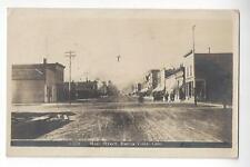 1916 Buena Vista, Colorado Main Street RPPC