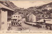 BRIANCON 111 LL vue générale pont de la guisanne sainte-catherine et la chaussée