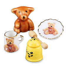 Reutter Porzellan Honigbär Honey Bear Breakfast Set Puppenstube 1:12 Art 1.454/8