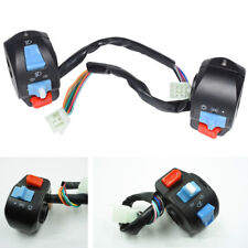"""Pair 7/8"""" Motorcycle Scooter Handlebar Multifunctionals ON OFF Switch Controller"""