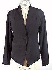 $378. Eileen Fisher Jacket Black Blazer sz 2/XXS Womens Ladies One button NWT