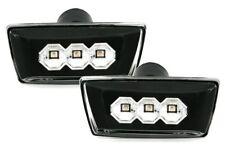 Für Opel Astra H Zafira B Corsa D Klarglas Schwarz LED Seitenblinker Blinker Set