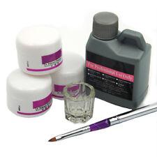 Nail Art Kit White Pink Clear Acrylic Powder Acrylic Liquid Pen Acrylic Kit Set