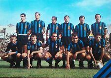 FC Inter Cartolina - 1966 - Unused - Edizione Muzio Milano - Calcio Serie A