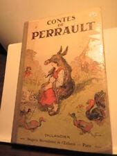 Livre ancien Contes de Perrault  / Tallandier.