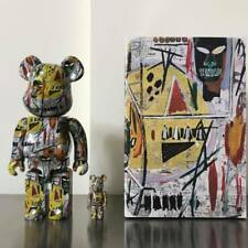 JEAN-MICHEL BASQUIAT BE@RBRICK 400% + 100% BEARBRICK