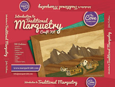 Pyrenean Village Marquetry Kit: By The Cove Workshop.