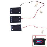 1PCS Charge Level Indicator Voltmeter for 12/24/48V Lead-acid Battery LY