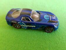 2010 Hot Wheels Speed Machines 06 DODGE VIPER SRT10 Blue LOOSE