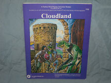 Grenadier Models 1st Edition D&D Module -  CLOUDLAND  (VERY RARE and NEAR MINT!)