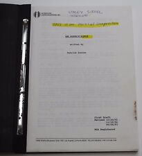 MR. HOLLAND'S OPUS / 1993 Screenplay, Early First Draft with Working Title