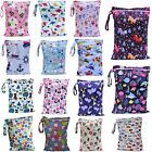 Waterproof Wet Bag 30x40cm for Nappies, Swimming, Wet Clothes, nappy bags large <br/> 30x40cm single+double pocket, mini +large 40x45cm bags