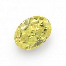 Yellow Diamond  - 1.18ct Natural Loose Fancy Yellow Canary Diamond GIA VVS1 Oval