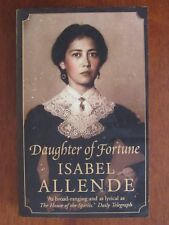 DAUGHTER OF FORTUNE by ISABEL ALLENDE HISTORICAL FICTION 2000