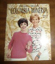 VINTAGE *SPOTLIGHT on SWEATERS* COLUMBIA*MINERVA PATTERN BOOK 745